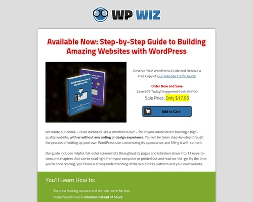 WordPress Wiz Ebook Guide