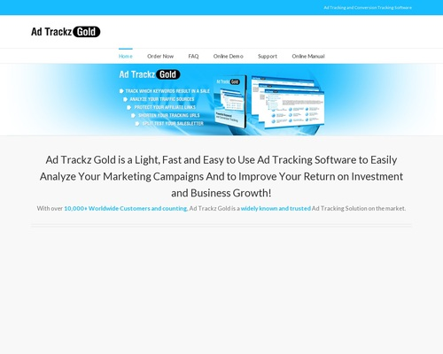 Ad Trackz Gold — Ad Tracking And Link Cloaking