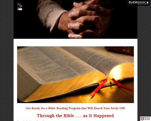 Through The Bible . . . As It Happened